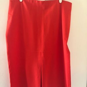 Coral Pencil Skirt size 16